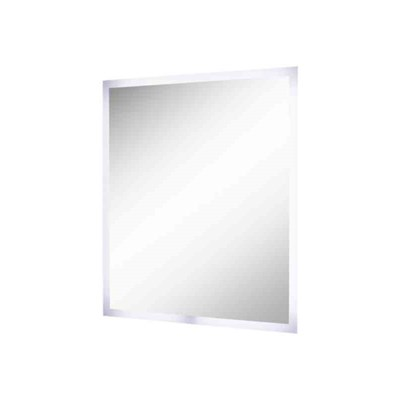 A-collection speil m/LED lys 90x70cm