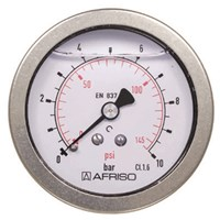 Manometer industri 63 mm, anslutning bak