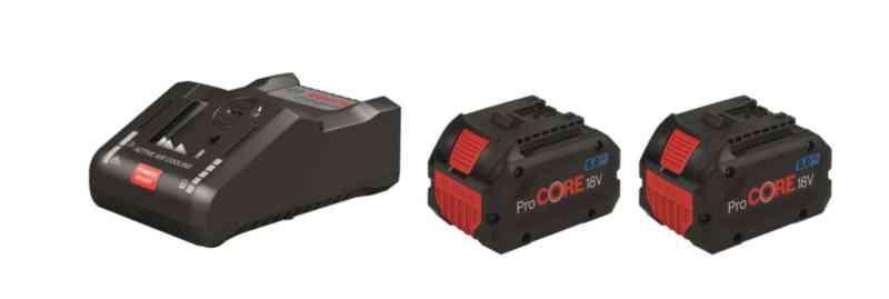Ahlsell Batterisett ProCORE 18V 2X8AH Bosch med lader GAL