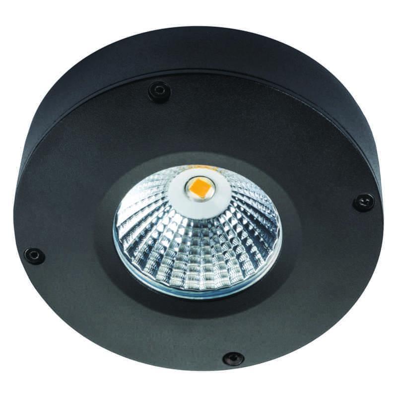 Downlight Sg® Ledstar sort 2,4W led spot.no
