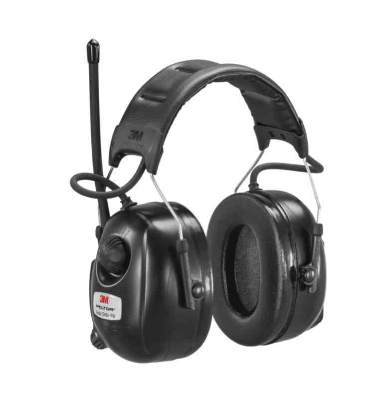 d9dd912dd Ahlsell - Hørselvern DAB+ FM radio bøyle 3M Peltor - Øreklokke 3M ...