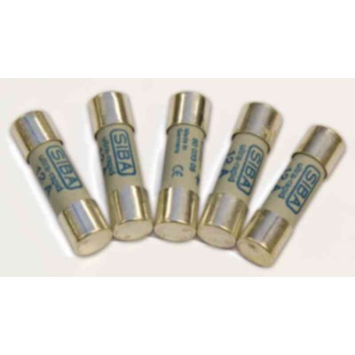 Opdateret Ahlsell - Sikring Ker. 10x38 500V gL 16A SIBA - F-sikring LG36