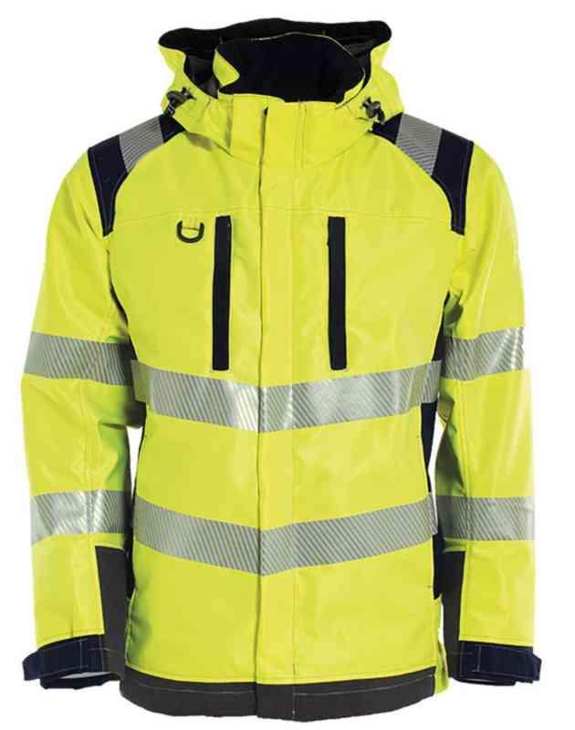Ahlsell T skjorte Strakofa El Line Multinorm gul str 4XL