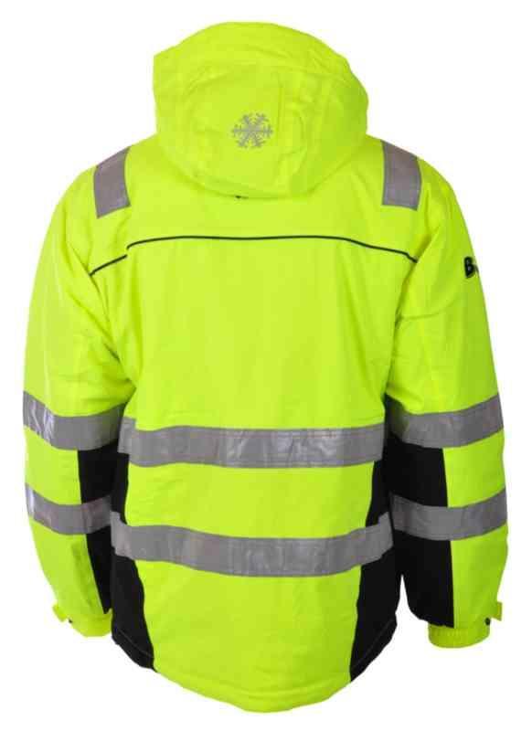 Ahlsell Vinterjakke BS Bergset HiVis kl.3 gulsva str XL