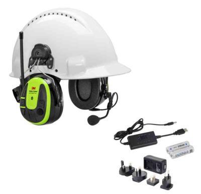 92dc1f7b8 Ahlsell - Hørseøvern WS alert xpi hjelm oppladbar MRX21P3EWS6-ACK ...