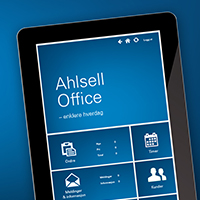 Lanserer Ahlsell Office!